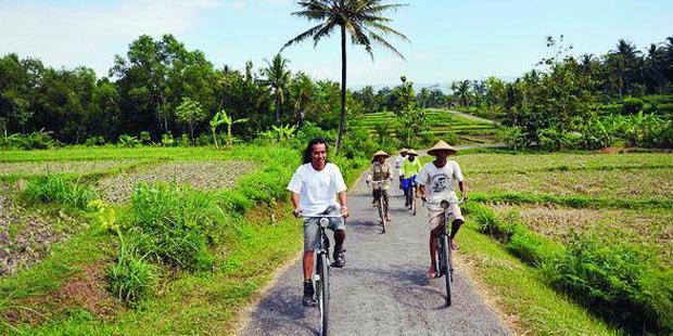 Keindahan Desa Wisata Kali Biru Kulon Progo