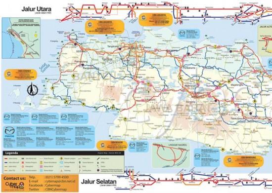 download peta mudik lebaran 2014 jawa barat