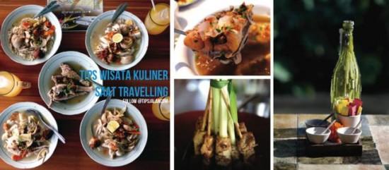 Wisata Kuliner saat liburan dan saat travelling