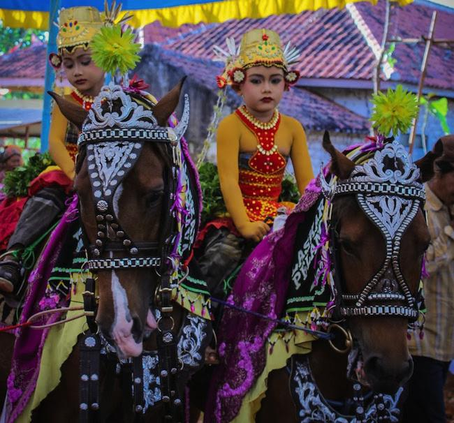 Pengantin Berkuda Sumenep Madura