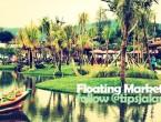 Floating Market Bandung Malam Hari