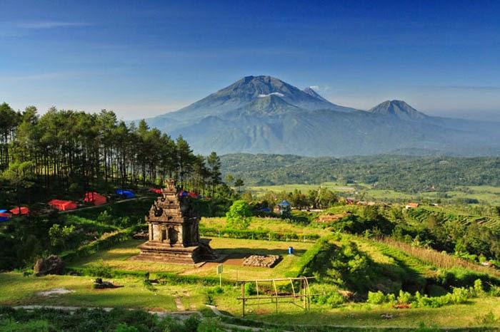 Objek Wisata Sejarah Candi Gedong Songo Ambarawa