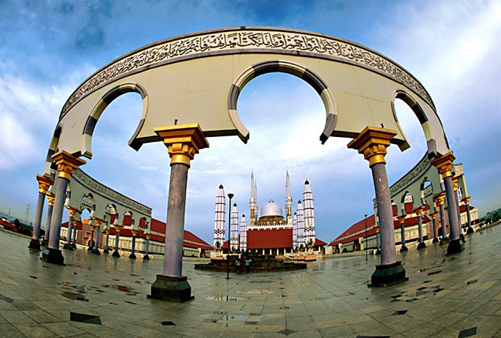 Masjid Agung Semarang Jawa Tengah