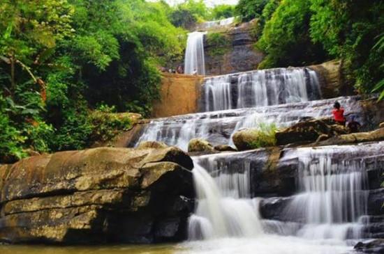 Objek Wisata Curug Nangga Banyumas Jateng