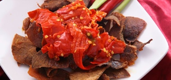 Dendeng Balado Kuliner Khas Padang Sumatera Barat