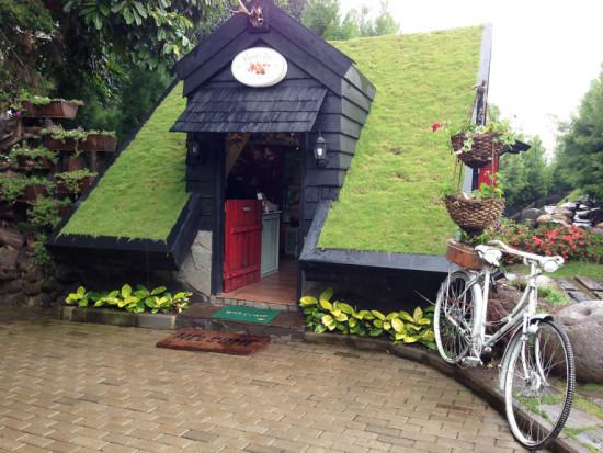Lokasi Rumah Hobit Farmhouse Susu Lembang