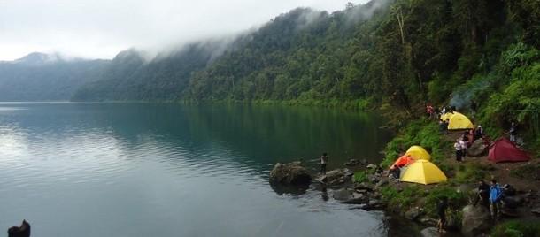 Cara Menuju Danau Gunung Tujuh Kerinci Jambi