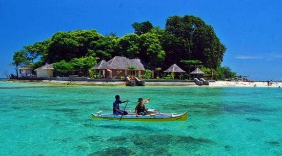 Pulau Samola di Makassar Sulawesi Selatan Indonesia
