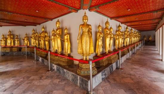 Vihara Wat Pho Objek Wisata Di Bangkok