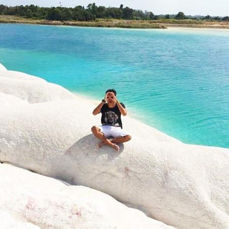 Danau Biru Sei Jeram Bintan Tempat Yang Indah Di Kepulauan Riau