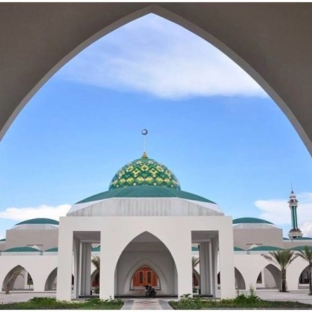 Masjid Natuna Tempat Yang Indah Di Kepulauan Riau
