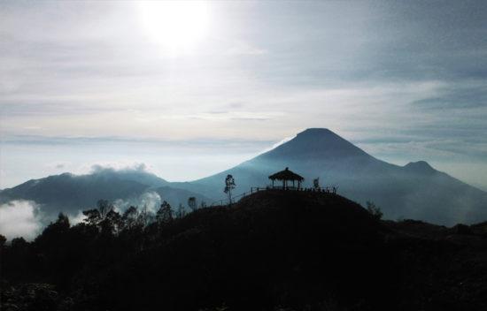 Gunung Sikunir di Wonosobo