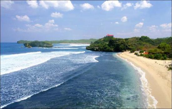 Pantai Ngliyep Wisata Pantai Populer Di Malang
