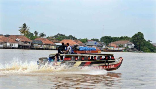 Sungai Musi Tempat Liburan Di Palembang
