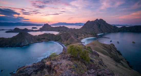 keindahan pulau komodo