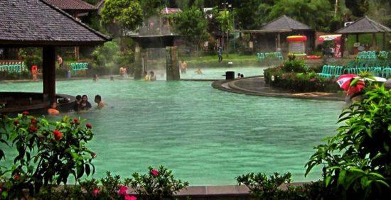 Air Panas Ciater tempat wisata di Bandung yang mudah dijangkau