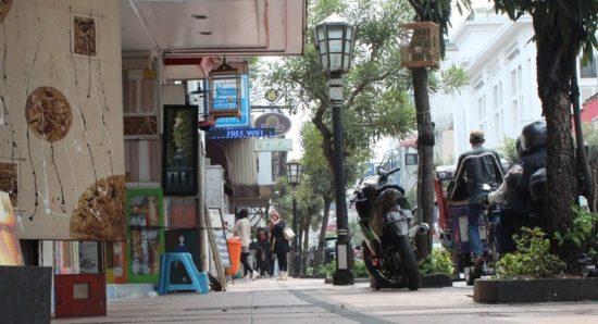 Jalan Braga Objek Wisata Romantis Bandung