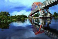 Wisata Jembatan Kahayan Palangkaraya