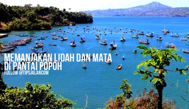 Keindahan Wisata Pantai Popoh Tulungagung Jawa Timur