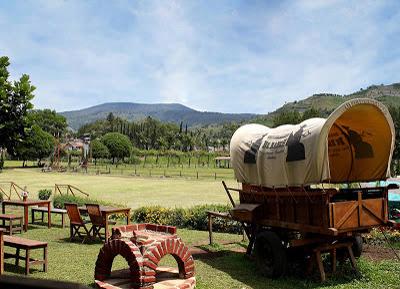 Objek wisata Seru De Ranch di Bandung
