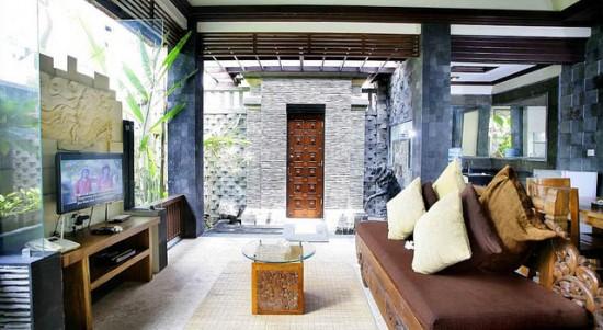 Dekorasi Taman Sari Bali Villa Murah di Bali