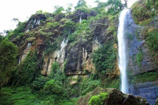 Objek Wisata Curug Muncar Purworejo Jateng