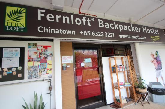 Hotel Murah Fernloft China Town Singapore