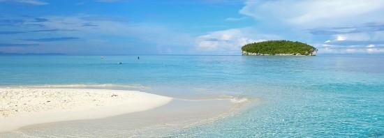 Tempat Liburan Lebaran Pantai Sari Ringgung dan Pasir Timbul