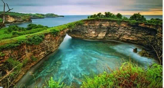 Tempat Wisata Pasih Uug Broken Beach Bali