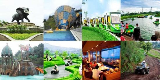 Foto Kampung Gajah Wonderland Lembang Bandung