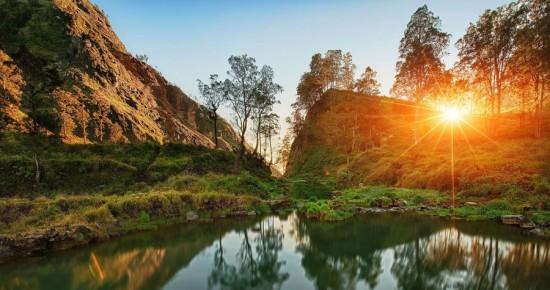 Keindahan Danau Segara Anak Gunung Rinjani