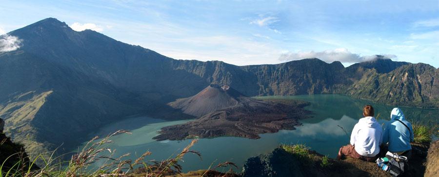 Plawangan Senaru Gunung Rinjani Gunung Tercantik Indonesia