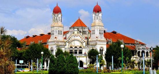 Objek Wisata Lawang Sewu Semarang Jawa Tengah