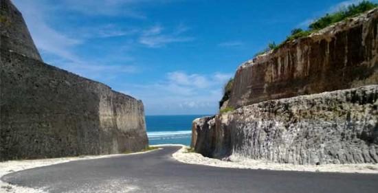 Pemandangan Pantai Pandawa Bali Selatan