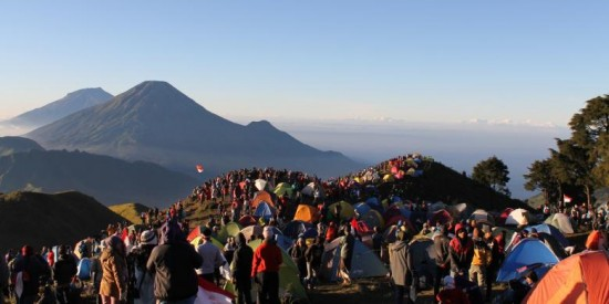 Jalur Pendakian Gunung Prau Via Patak Banteng