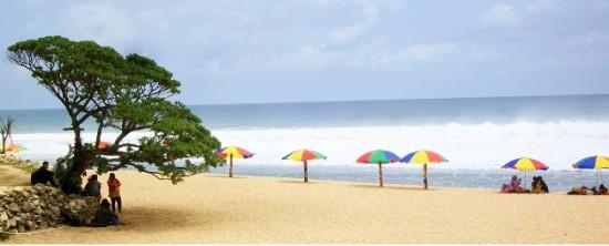 Objek Wisata Pantai Pok Tunggal Wonosari Gunung Kidul Jogja