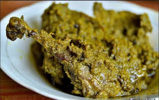 Itiak Lado Hijau Kuliner Khas Sumatera Barat