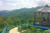 Foto Pemandangan Green Village Gedangsari Jogja