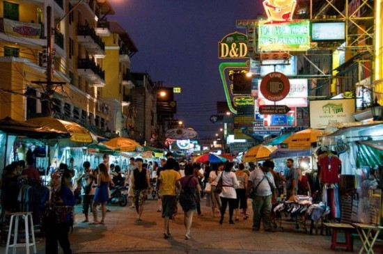 Khao San Road Tempat Wisata Di Bangkok Thailand