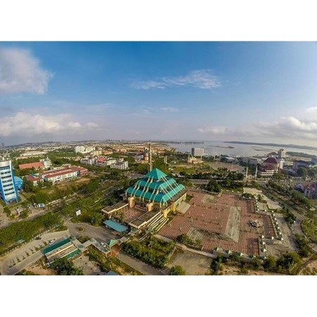 Masjid Raya Batam Center Tempat Yang Indah Di Kepulauan Riau