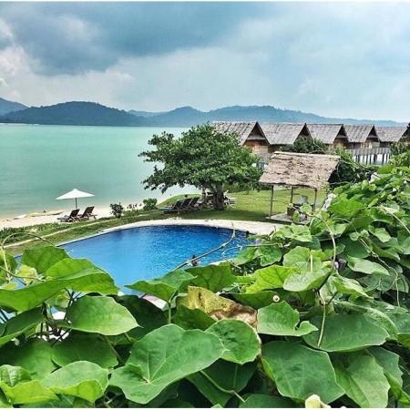 Telunas Resort Private Island Pulau Sugi Moro Karimun Tempat Yang Indah Di Kepulauan Riau