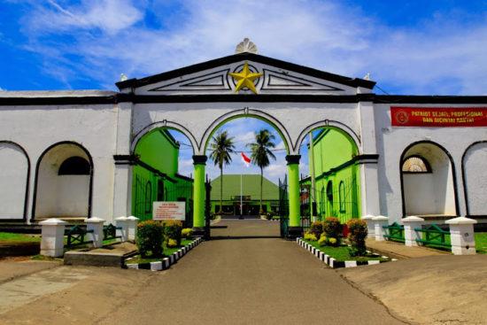 Benteng Kuto Besak Palembang Sumsel