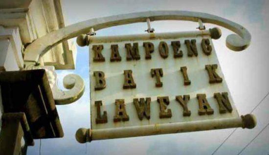 Kampoeng Batik Laweyan di Solo