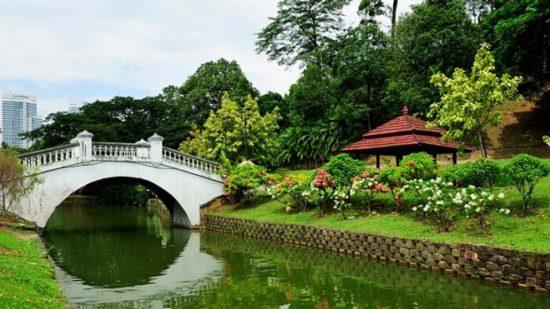 Perdana Botanical Garden Kuala Lumpur Malasya