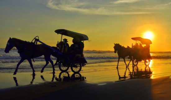 Wisata Pantai Parangtritis di Yogyakarta