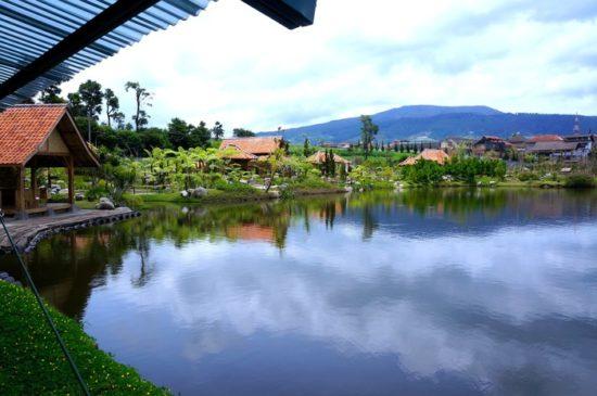 Danau Situ Umar tempat wisata di Bandung yang mudah dijangkau
